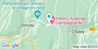 Plan Carte L'herminette à Evosges