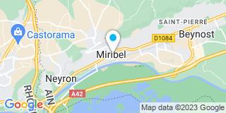 Plan Carte Moreno Garcia Manuela à Miribel