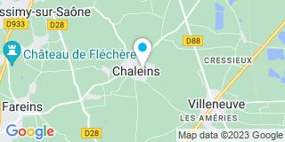 Plan Carte Nuguet Pierre à Chaleins