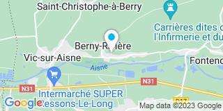 Plan Carte Loffi Frédéric à Berny-Rivière