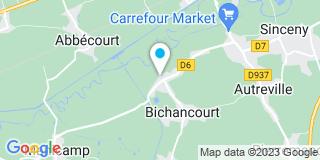 Plan Carte Prieur et Fils à Bichancourt