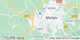 Plan Carte Magasin Vert à Saint-Martin-des-Champs