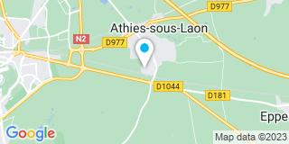 Plan Carte Courault Michel à Athiès-sous-Laon