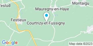 Plan Carte Couverture Laude Youri à Saint-Erme-Outre-Et-Ramecourt