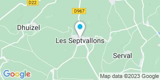 Plan Carte Da Silva Dominique et Chotin Frères à Longueval-Barbonval