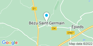 Plan Carte Entreprise Caron à Bézu-Saint-Germain