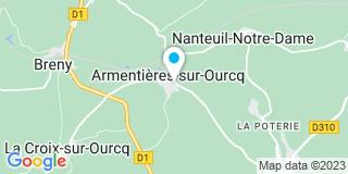 Plan Carte Herbeck Laurent à Armentières-sur-Ourcq