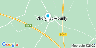 Plan Carte Delville David à Chéry-lès-Pouilly