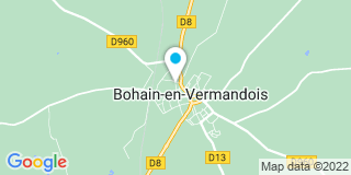 Plan Carte 2C2B à Bohain-en-Vermandois