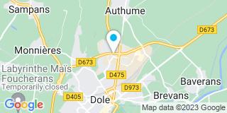 Plan Carte Menuiserie Dougnier Et Associés à Dole