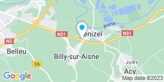 Plan Carte Entreprise José Courson à Venizel