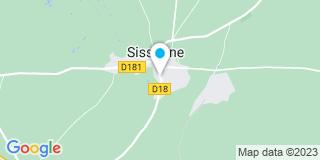 Plan Carte FG Couverture à Sissonne