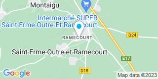 Plan Carte Gauche Francis à Saint-Erme-Outre-et-Ramecourt