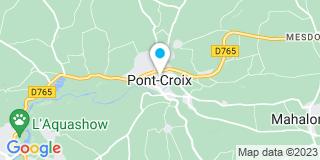 Plan Carte Point Vert Le Jardin à Pont Croix