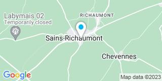 Plan Carte Lamoureux Nicolas à Sains-Richaumont