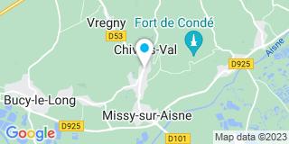 Plan Carte Levier Wilfrid à Chivres-Val