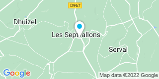 Plan Carte Lucas Carlos à Longueval-Barbonval