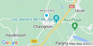 Plan Carte Lueger David à Chavignon