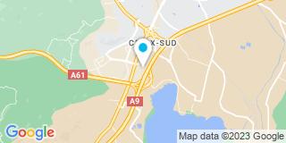 Plan Carte Toiture Contemporaine à Narbonne
