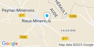 Plan Carte Az Toiture à Rieux-Minervois