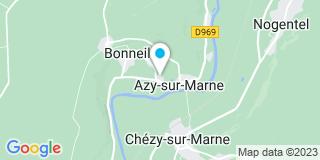 Plan Carte Omilanowski à Azy-sur-Marne