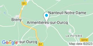 Plan Carte Payel Christian à Armentières-sur-Ourcq