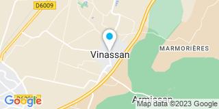 Plan Carte Entreprise Dutour à Vinassan