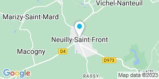 Plan Carte Toiture Frontonaise à Neuilly-Saint-Front