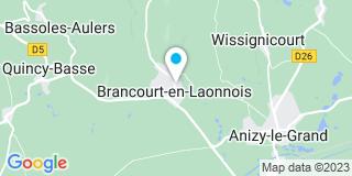 Plan Carte Watin Jean-Claude à Brancourt-en-Laonnois