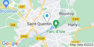Plan Carte AB Couverture à Saint-Quentin