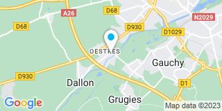Plan Carte Berton Denis à Francilly-Selency