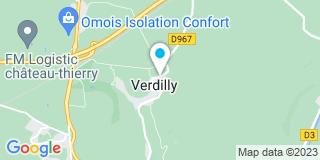 Plan Carte Besacchi Yvan à Verdilly