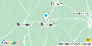 Plan Carte Bonnet Marc à Beaumé