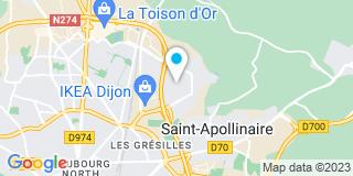 Plan Carte Entreprise L.Bourneaud  à Dijon