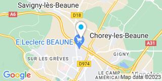 Plan Carte Entreprise Zinetti à Beaune
