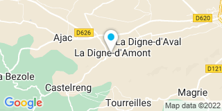 Plan Carte Apex-Artisan à La Digne-d'Amont