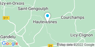 Plan Carte Courtois à Hautevesnes
