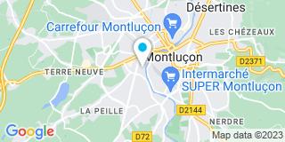 Plan Carte Mellot Fabien à Montluçon