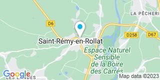 Plan Carte Saint Rémy Rénovation à Saint-Rémy-en Rollat