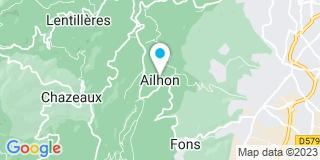 Plan Carte Moulin Charpente à Aubenas