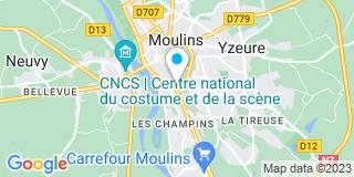 Plan Carte Bonnet Jean-Luc à Moulins