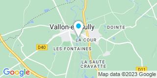 Plan Carte Entreprise Souillier à Vallon-en-Sully