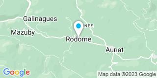 Plan Carte Morisot Jean-Christophe à Rodome