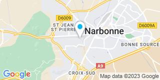 Plan Carte Lajunta Christian à Narbonne