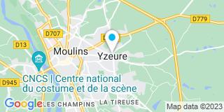 Plan Carte Guéneau à Yzeure
