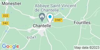Plan Carte Laurent Jean-Claude à Chantelle