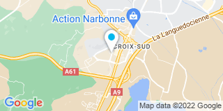 Plan Carte Plastiques d'Occitanie à Narbonne