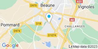 Plan Carte Maurage Couverture à Beaune