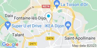 Plan Carte Pateu et Robert à Dijon