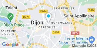 Plan Carte 21 Toitures à Dijon
